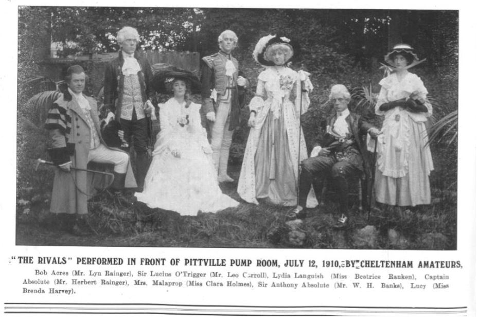 Tableau! and Curtain Call<br><small><i>Cheltenham Chronicle and Gloucestershire Graphic</i> 16 July 1910</small>