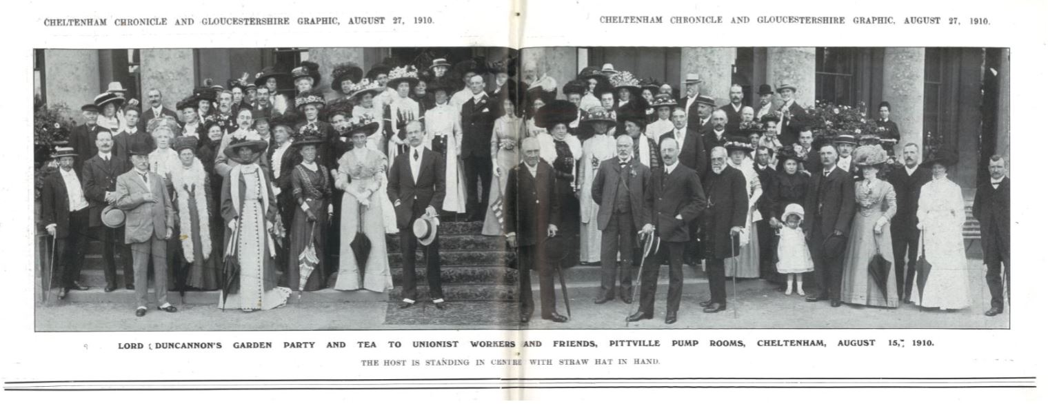 A month later, and another chance for a nice cup of tea<br><small><i>Cheltenham Chronicle and Gloucestershire Graphic</i> 27 August 1910</small>
