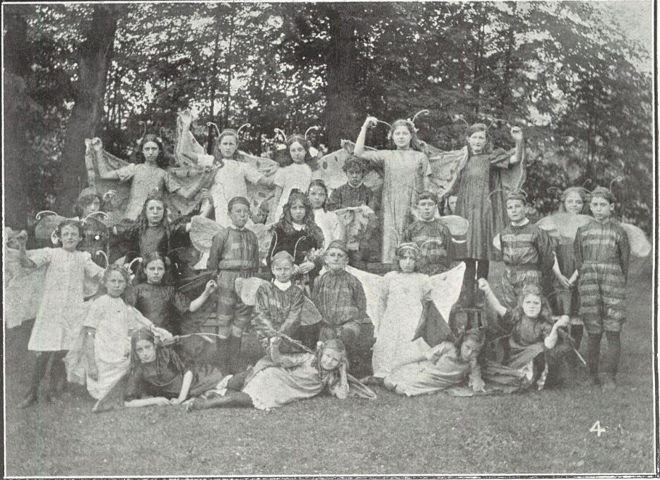 'The Butterfly and Wasp troupe gave two performances, during the afternoon and evening'<br><small><i>Cheltenham Chronicle and Gloucestershire Graphic</i> 22 June 1912</small>