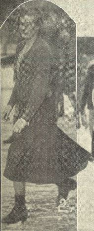 'Miss Willoughby, one of the most accomplished skaters present'<br><small><i>Supplement</i> to the <i>Cheltenham Chronicle</i> 4 February 1933</small>