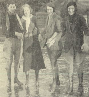 'Mr. W. R. Holman, Miss Williams, Miss Budd, Miss D. Holman'<br><small><i>Supplement</i> to the <i>Cheltenham Chronicle</i> 4 February 1933</small>